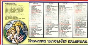 Hrvatski Kalendar 2013 | Star Travel International And Domestic Guides