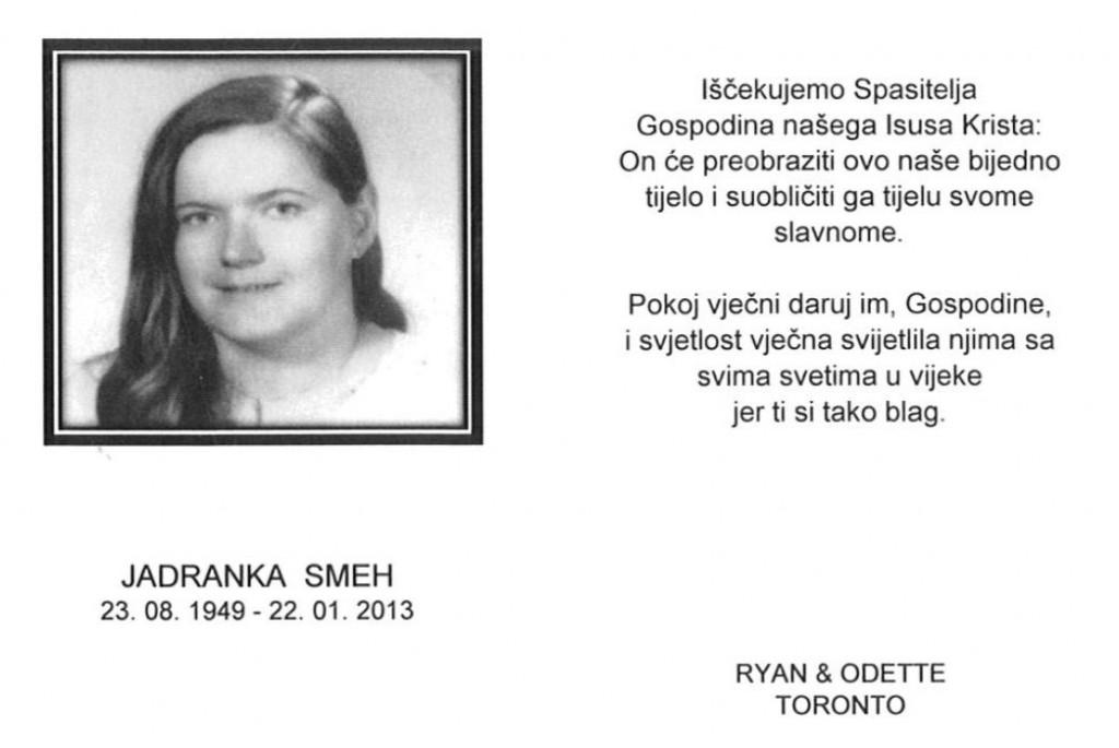 Jadranka SMEH