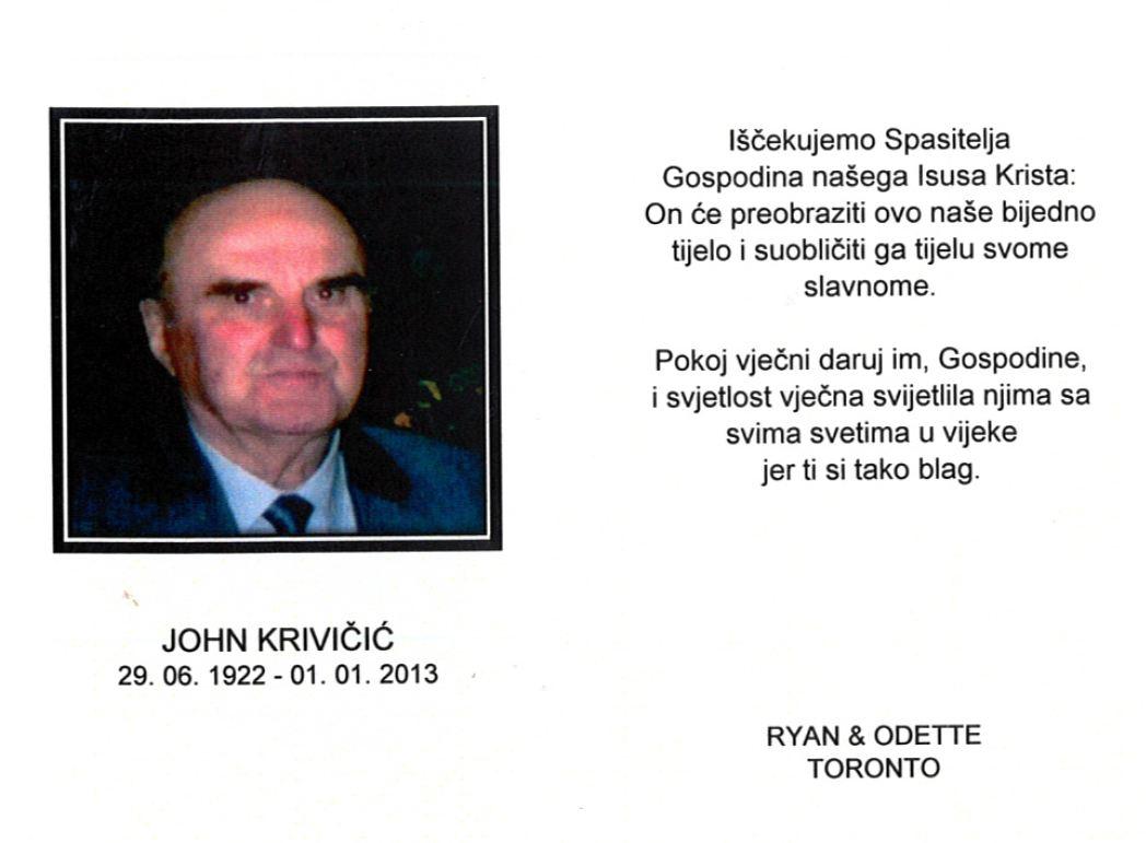 John Krivicic