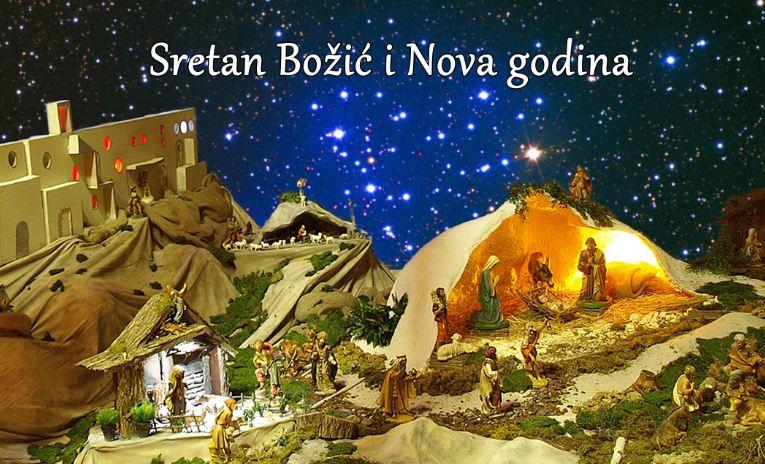 Slikovni rezultat za božićna i novogodišnja čestitka