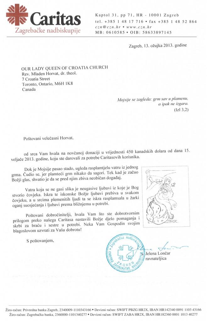 Caritas Zagrebacke nadbiskupije 30MAR2013
