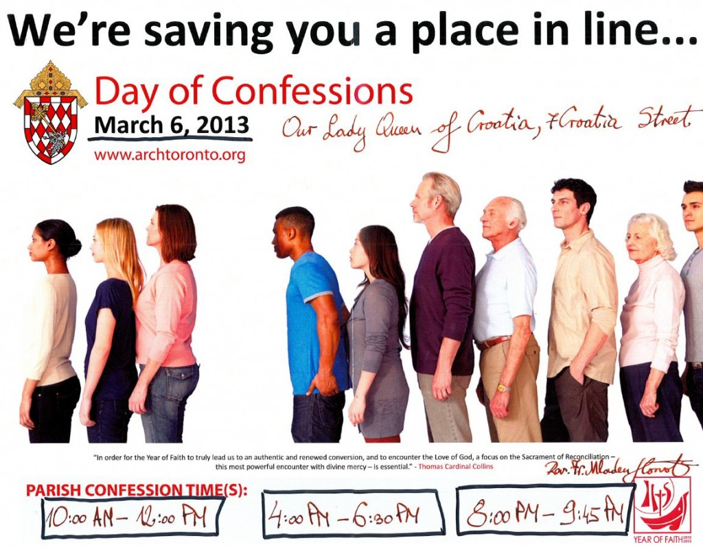 Day of Confessions 06MAR2013
