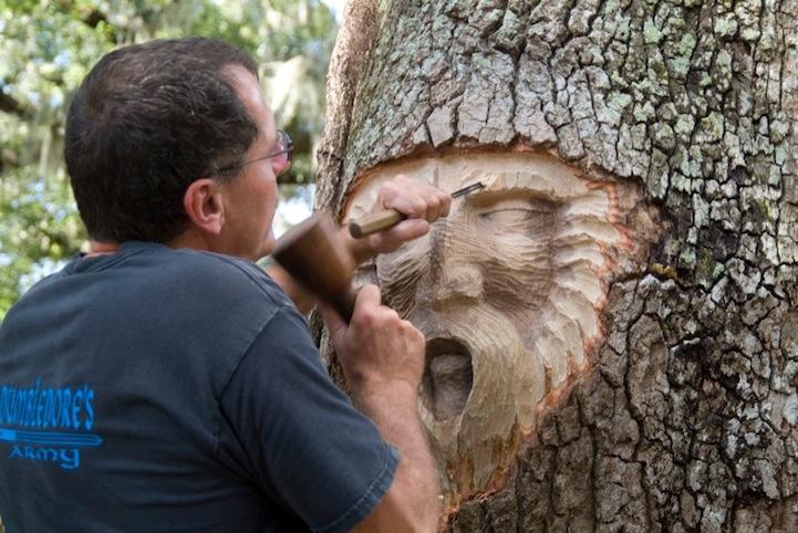 umjetnik i stablo